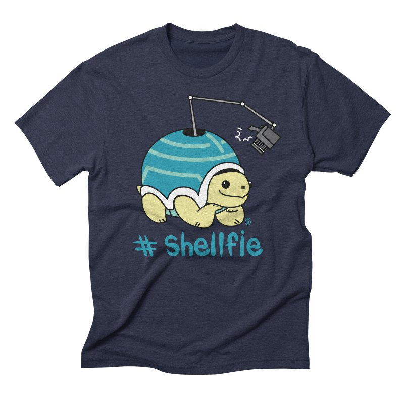 SHELLFIE Men's Triblend T-Shirt by Tripleta Gourmet Clothing