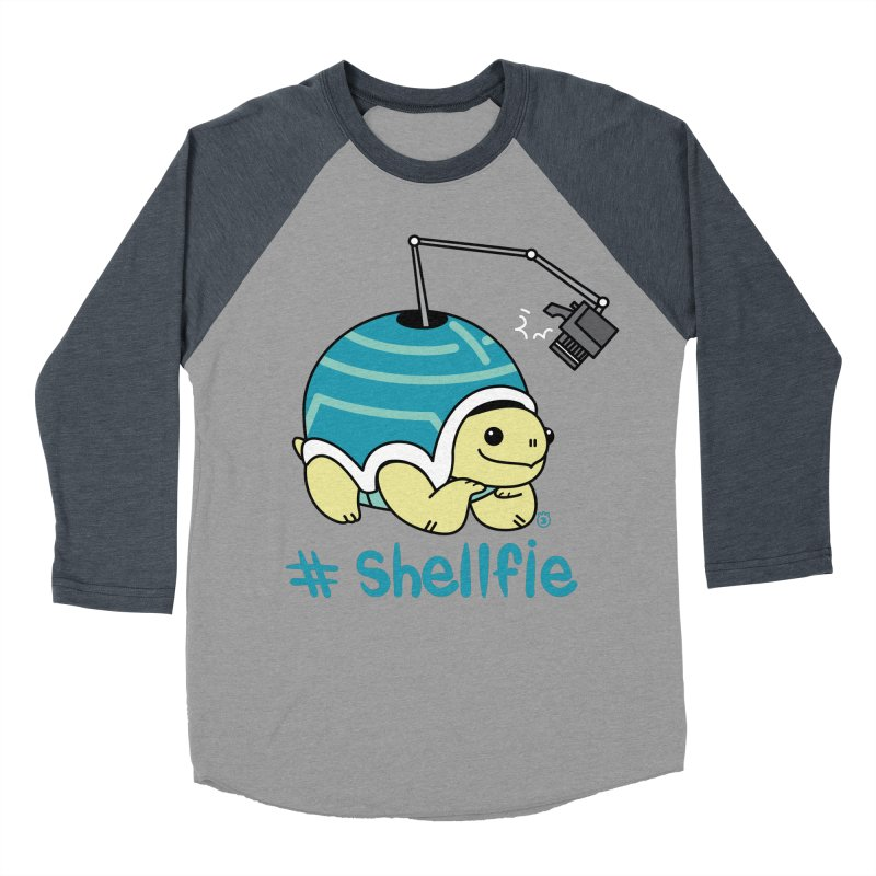 SHELLFIE Women's Baseball Triblend Longsleeve T-Shirt by Tripleta Studio Shop