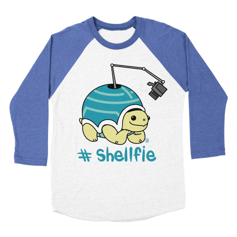 SHELLFIE Men's Baseball Triblend T-Shirt by Tripleta Gourmet Clothing
