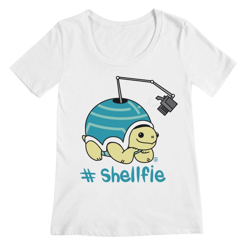 SHELLFIE Women's Regular Scoop Neck by Tripleta Studio Shop