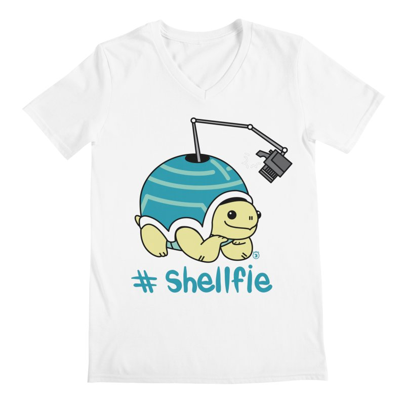 SHELLFIE Men's V-Neck by Tripleta Gourmet Clothing