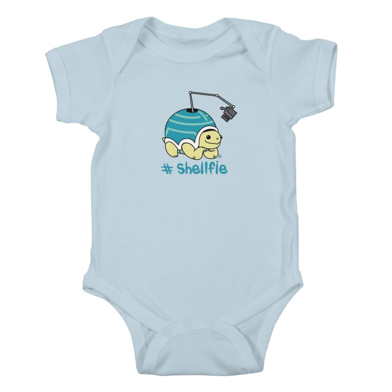 SHELLFIE Kids Baby Bodysuit by Tripleta Gourmet Clothing