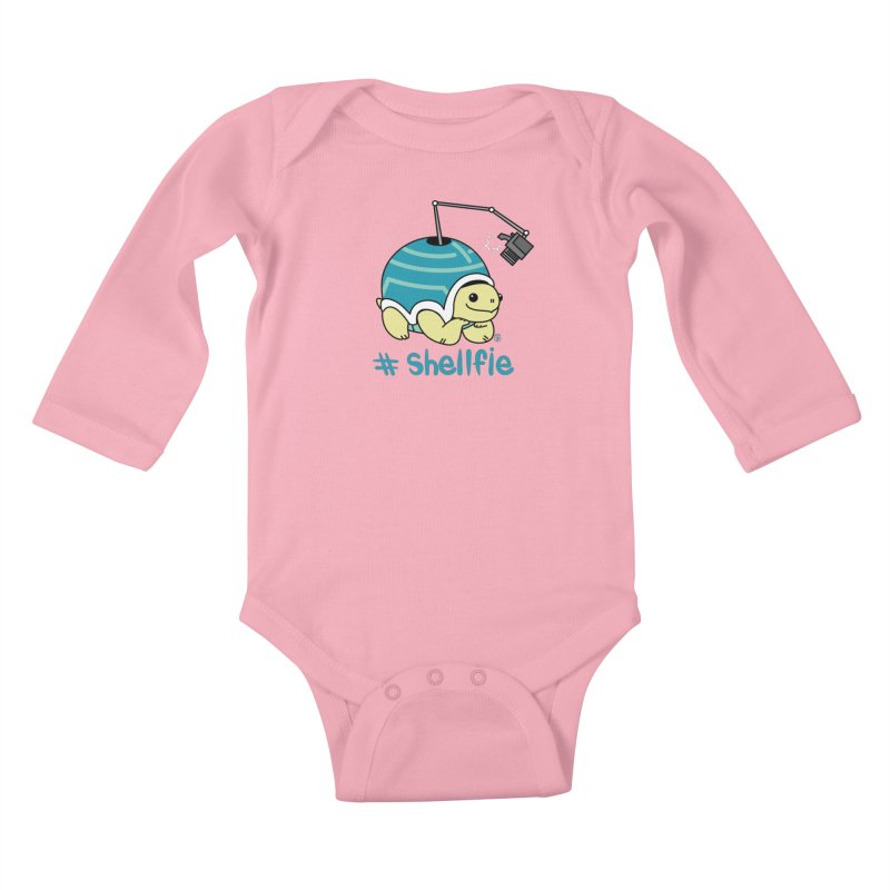 SHELLFIE Kids Baby Longsleeve Bodysuit by Tripleta Studio Shop