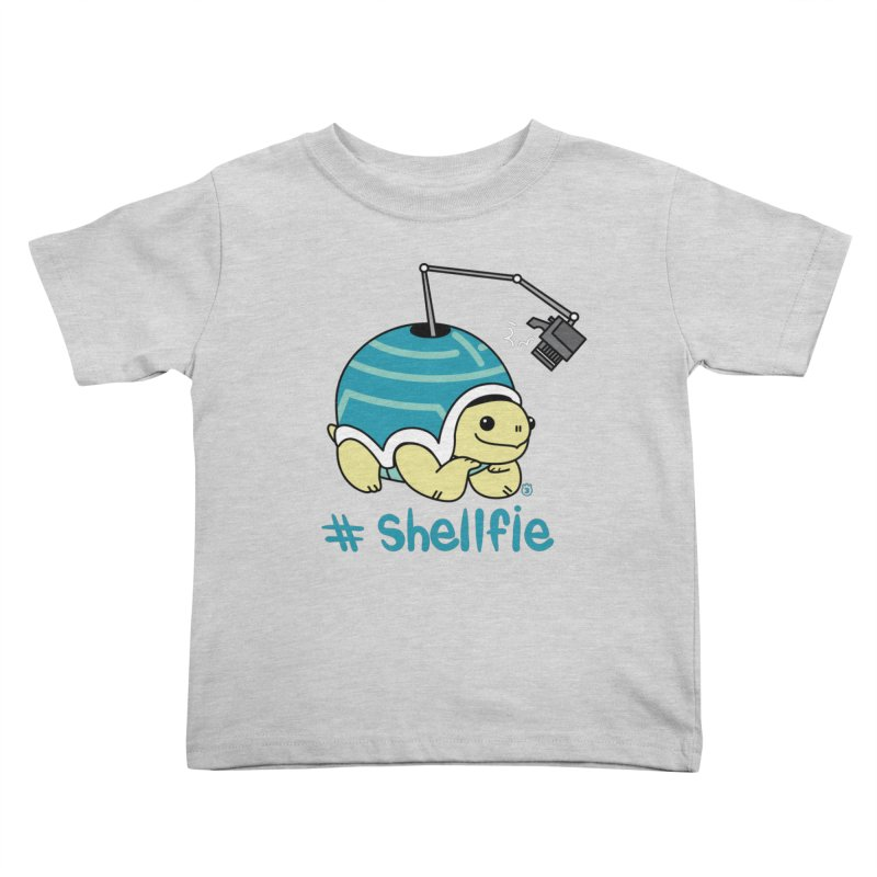 SHELLFIE Kids Toddler T-Shirt by Tripleta Gourmet Clothing