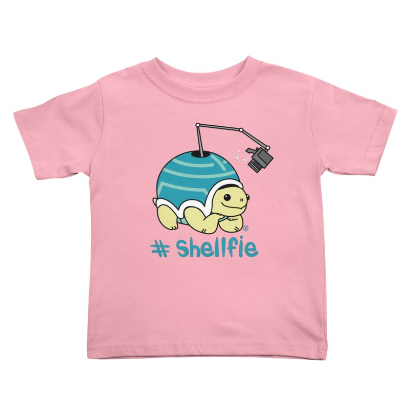 SHELLFIE Kids Toddler T-Shirt by Tripleta Studio Shop