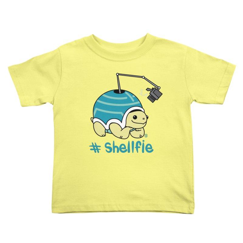 SHELLFIE Kids Toddler T-Shirt by Tripleta Gourmet Clothing