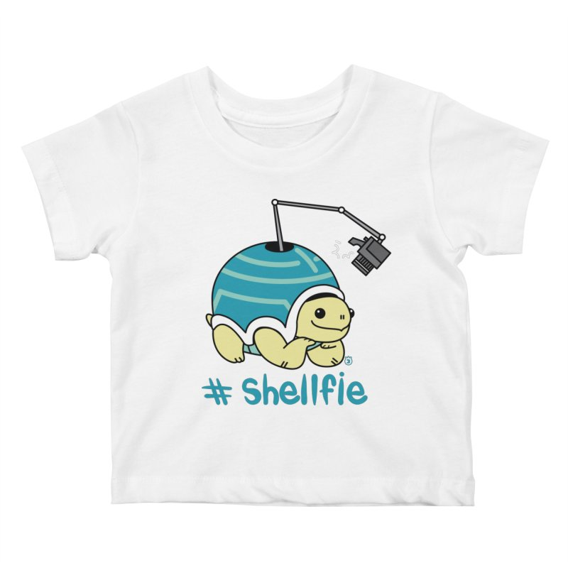 SHELLFIE Kids Baby T-Shirt by Tripleta Gourmet Clothing