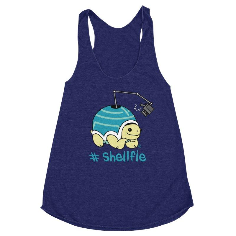 SHELLFIE Women's Racerback Triblend Tank by Tripleta Studio Shop