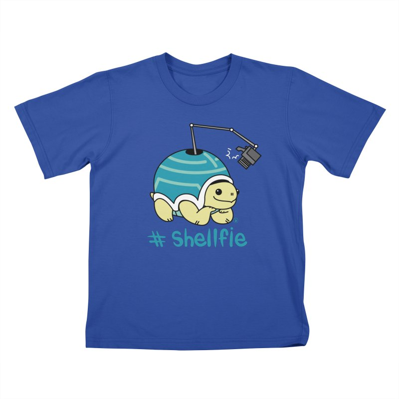 SHELLFIE Kids T-Shirt by Tripleta Gourmet Clothing