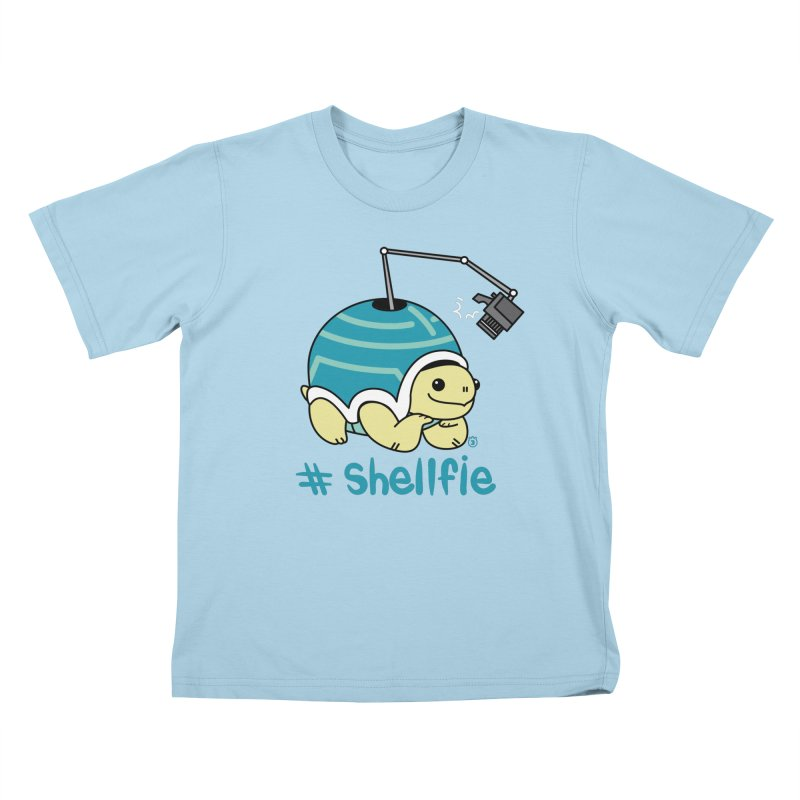SHELLFIE Kids T-Shirt by Tripleta Studio Shop