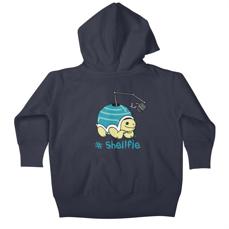 SHELLFIE Kids Baby Zip-Up Hoody by Tripleta Gourmet Clothing
