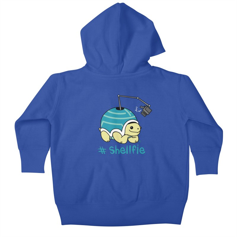 SHELLFIE Kids Baby Zip-Up Hoody by Tripleta Gourmet Clothing