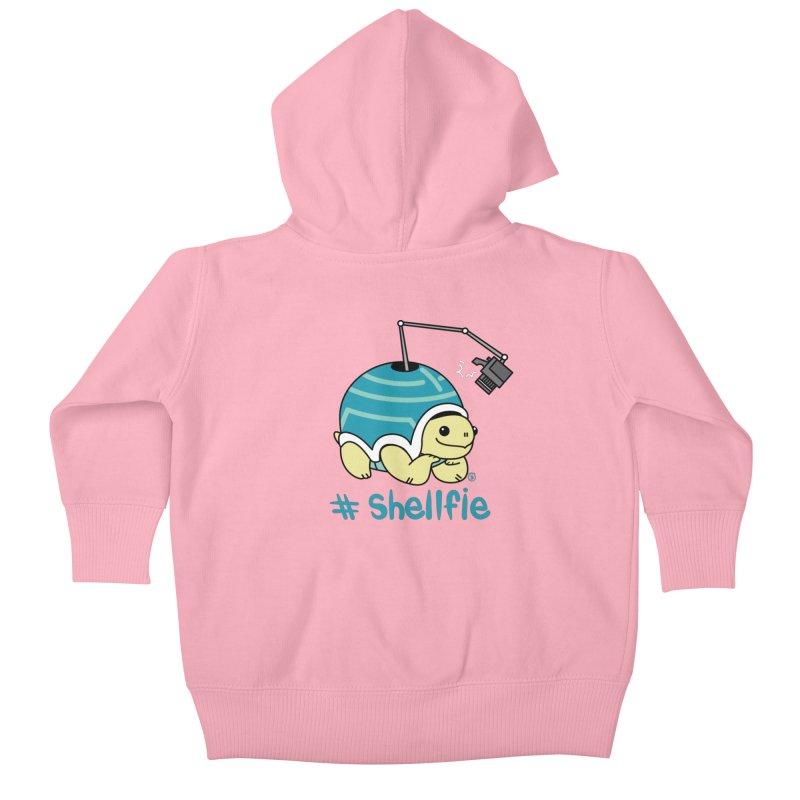 SHELLFIE Kids Baby Zip-Up Hoody by Tripleta Studio Shop