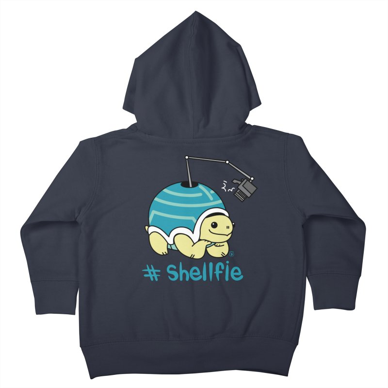 SHELLFIE Kids Toddler Zip-Up Hoody by Tripleta Gourmet Clothing