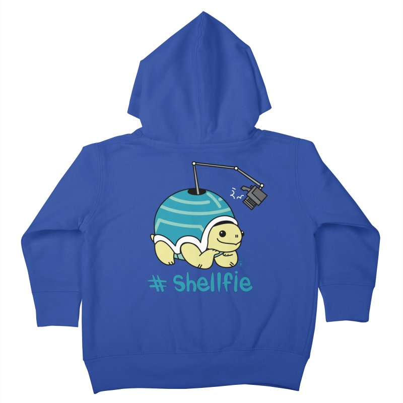SHELLFIE Kids Toddler Zip-Up Hoody by Tripleta Studio Shop
