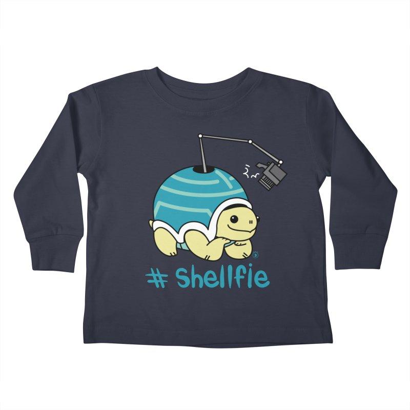 SHELLFIE Kids Toddler Longsleeve T-Shirt by Tripleta Studio Shop
