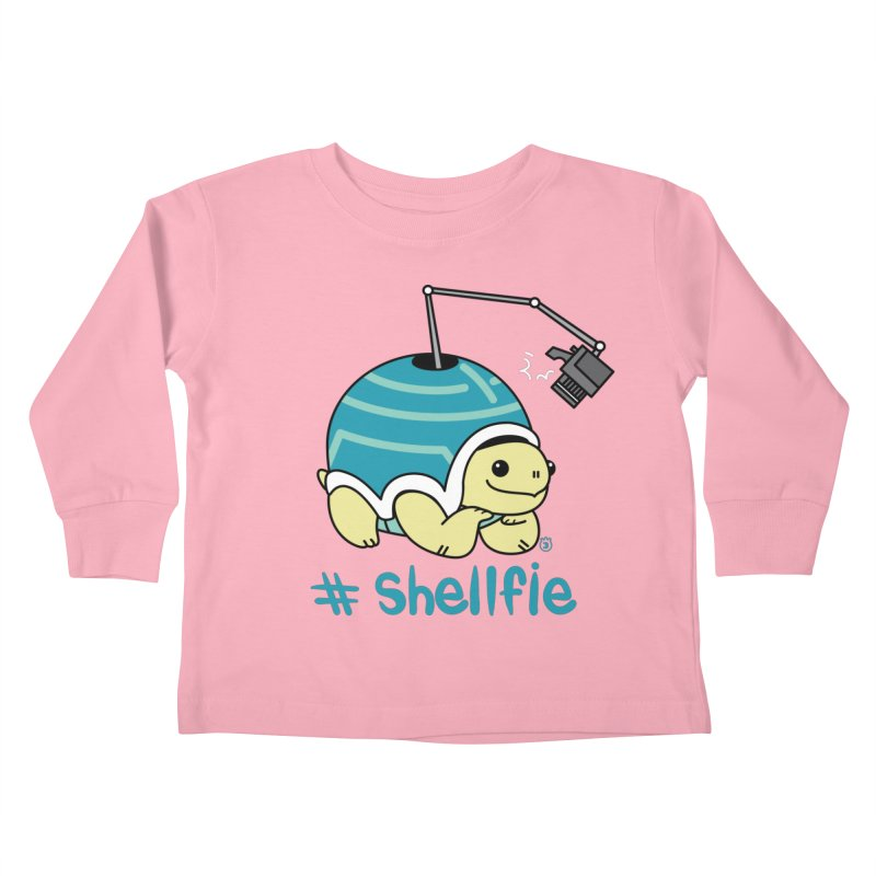 SHELLFIE Kids Toddler Longsleeve T-Shirt by Tripleta Gourmet Clothing
