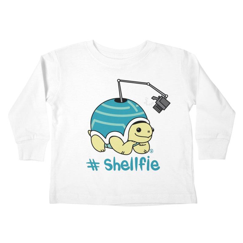 SHELLFIE Kids Toddler Longsleeve T-Shirt by Tripleta Gourmet Clothing