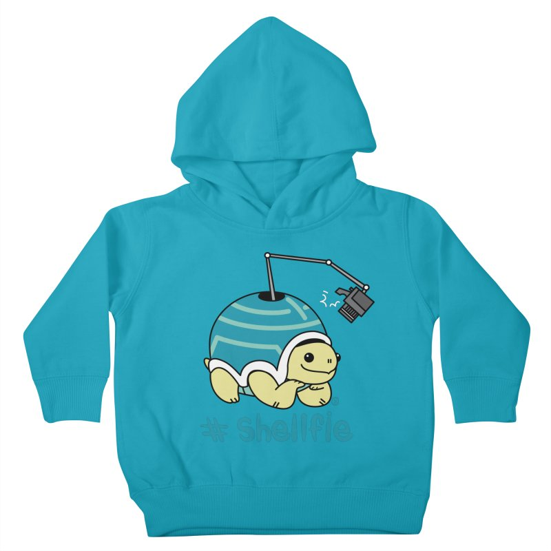 SHELLFIE Kids Toddler Pullover Hoody by Tripleta Gourmet Clothing