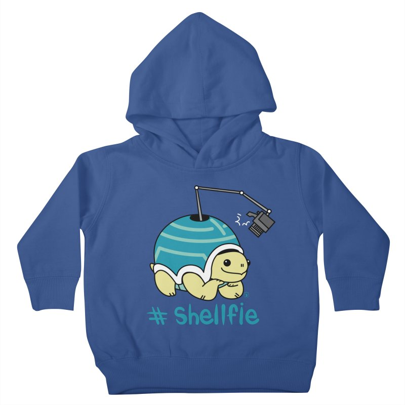 SHELLFIE Kids Toddler Pullover Hoody by Tripleta Studio Shop