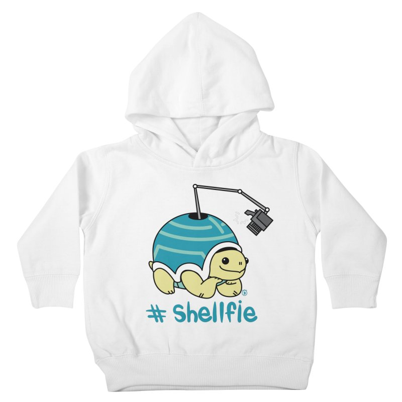 SHELLFIE Kids Toddler Pullover Hoody by Tripleta Studio Shop
