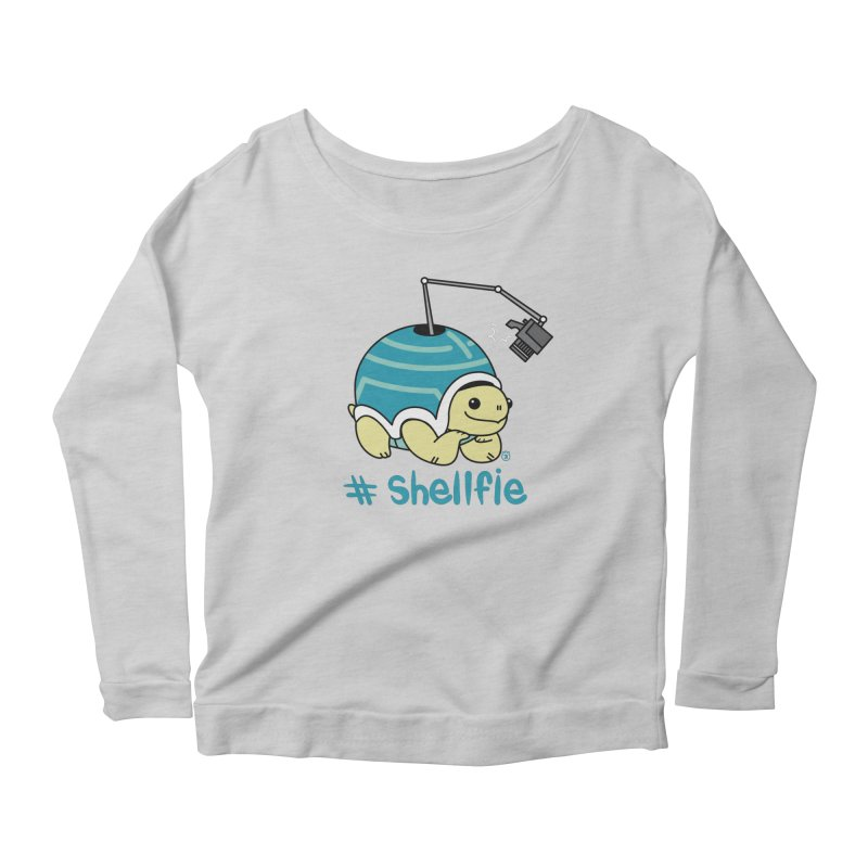 SHELLFIE Women's Longsleeve Scoopneck  by Tripleta Gourmet Clothing