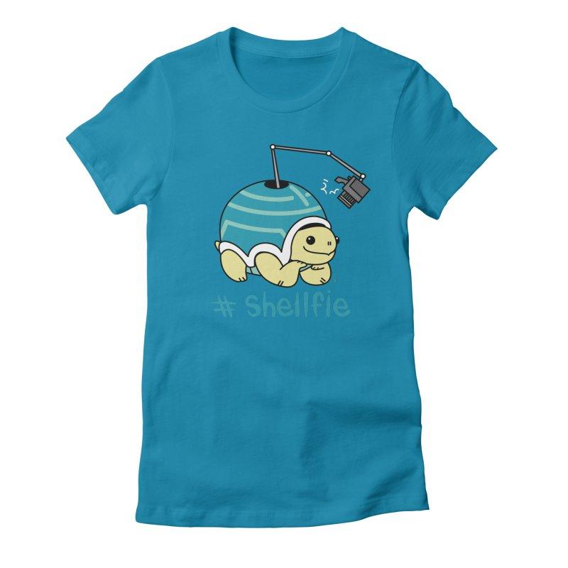 SHELLFIE Women's Fitted T-Shirt by Tripleta Gourmet Clothing