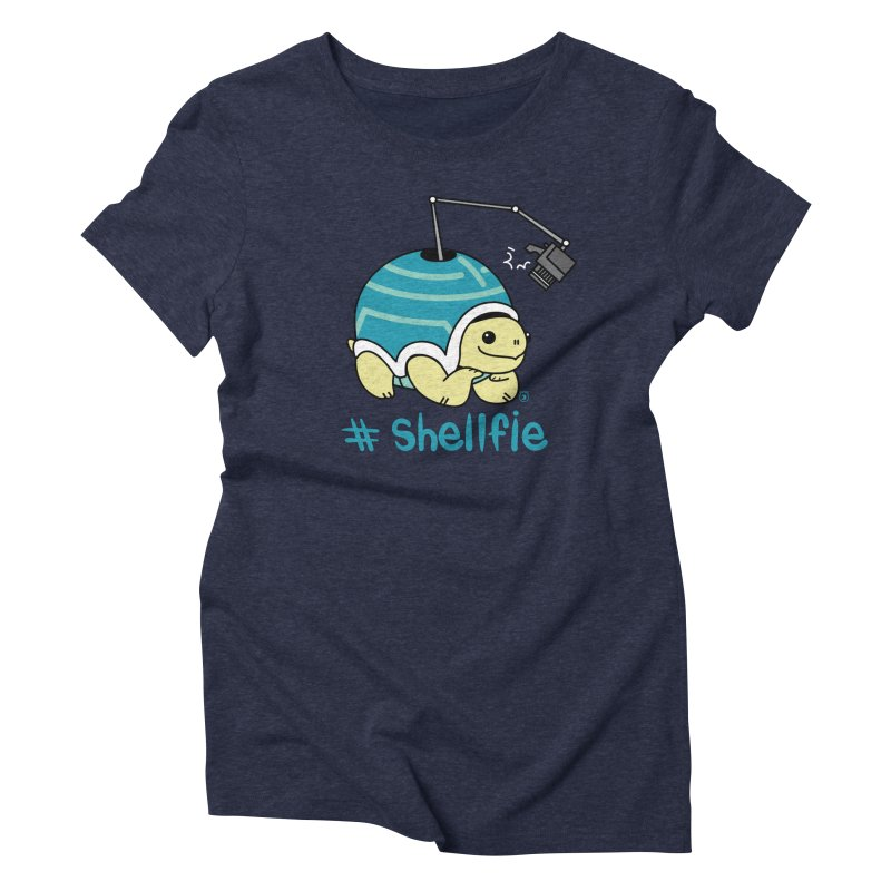 SHELLFIE Women's Triblend T-Shirt by Tripleta Gourmet Clothing