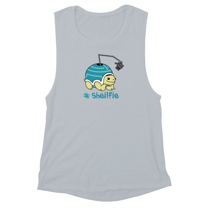 SHELLFIE Women's Muscle Tank by Tripleta Studio Shop
