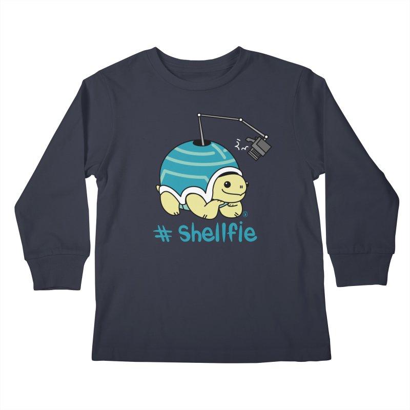 SHELLFIE Kids Longsleeve T-Shirt by Tripleta Studio Shop