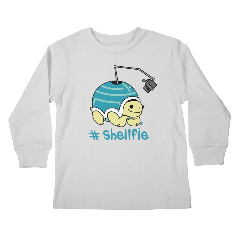 SHELLFIE Kids Longsleeve T-Shirt by Tripleta Studio Shop