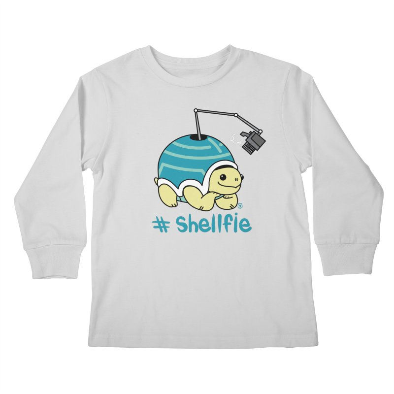 SHELLFIE Kids Longsleeve T-Shirt by Tripleta Gourmet Clothing