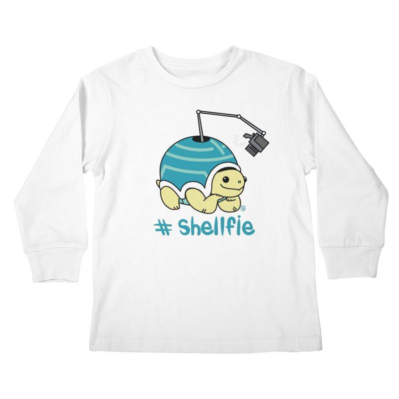 SHELLFIE Kids Longsleeve T-Shirt by Tripleta Gourmet Clothing