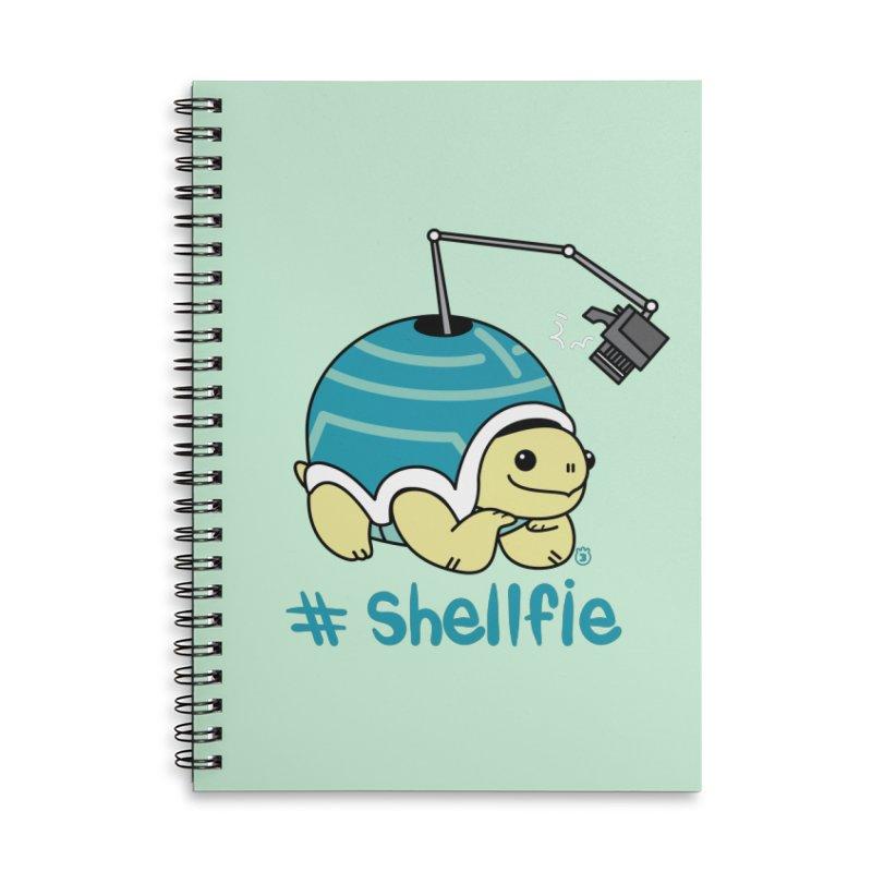 SHELLFIE Accessories Lined Spiral Notebook by Tripleta Studio Shop