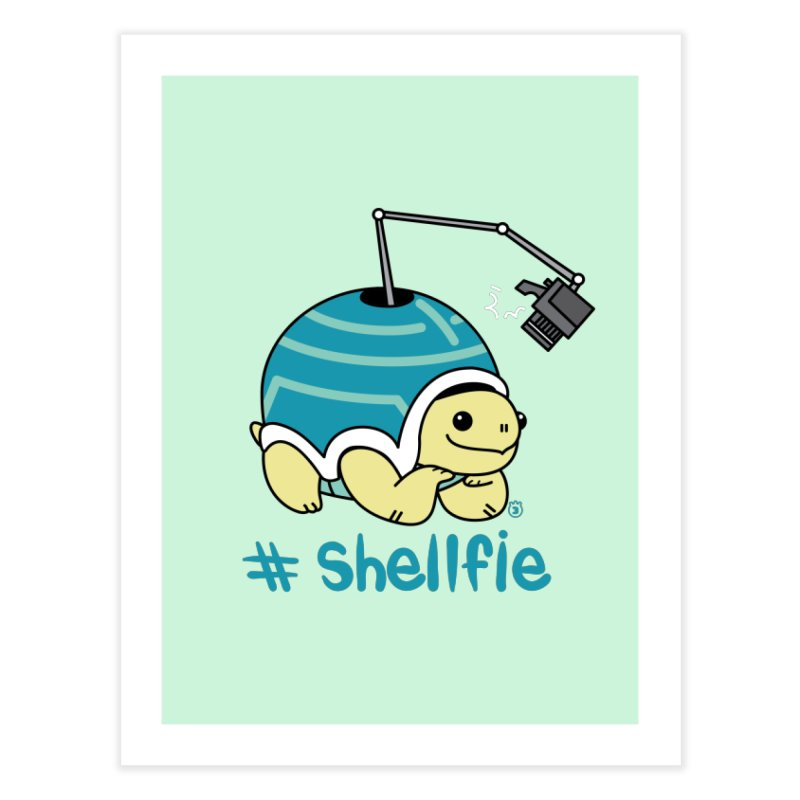 SHELLFIE Home Fine Art Print by Tripleta Studio Shop
