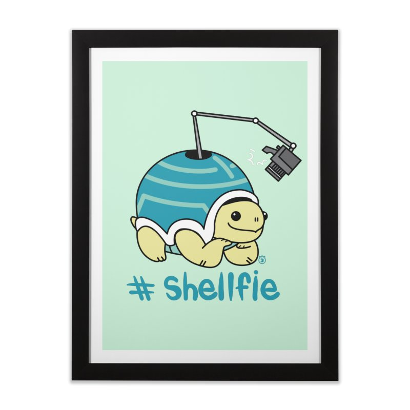 SHELLFIE Home Framed Fine Art Print by Tripleta Gourmet Clothing