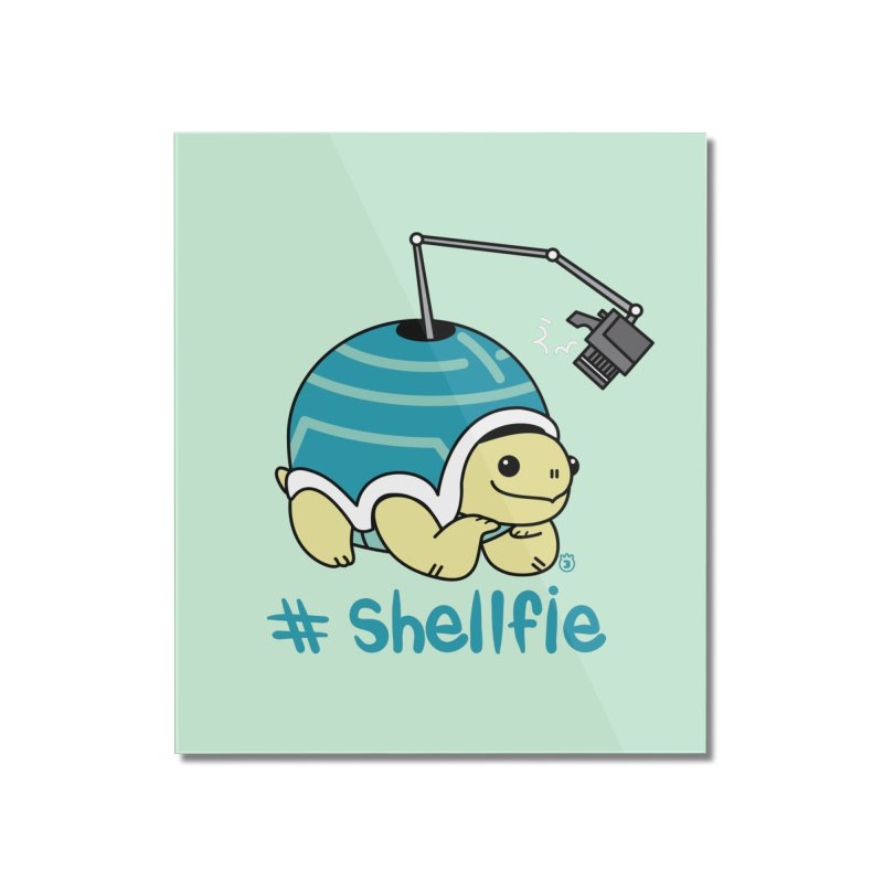 SHELLFIE Home Mounted Acrylic Print by Tripleta Gourmet Clothing