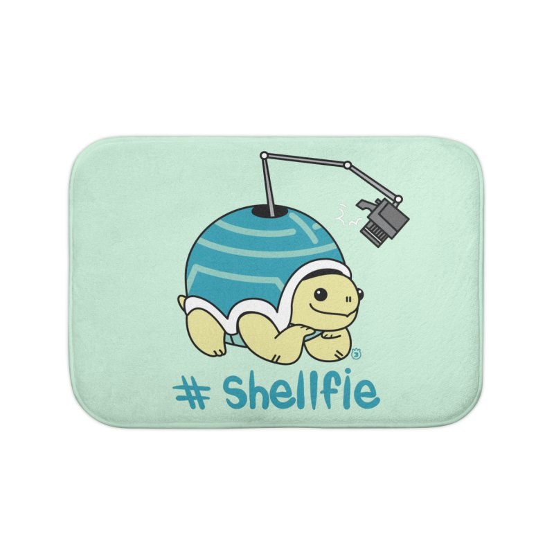 SHELLFIE Home Bath Mat by Tripleta Gourmet Clothing