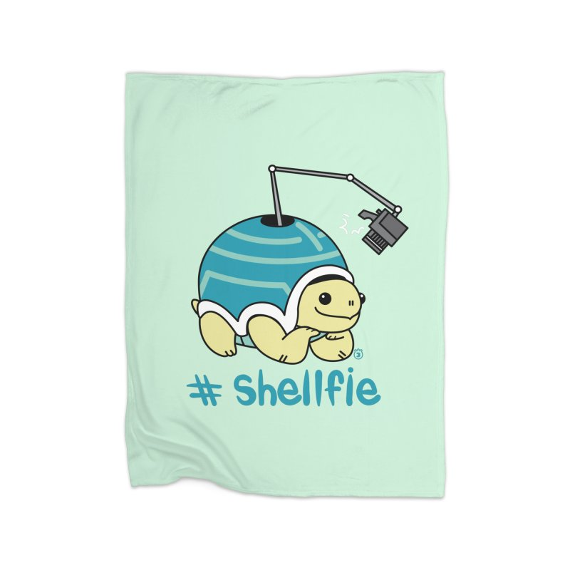 SHELLFIE Home Fleece Blanket Blanket by Tripleta Studio Shop