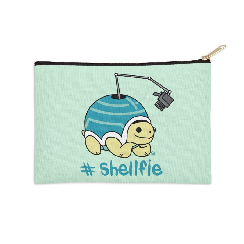 SHELLFIE Accessories Zip Pouch by Tripleta Gourmet Clothing