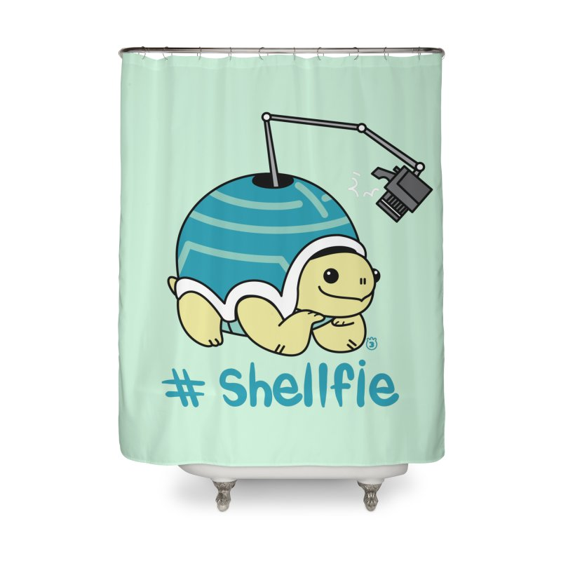 SHELLFIE Home Shower Curtain by Tripleta Gourmet Clothing
