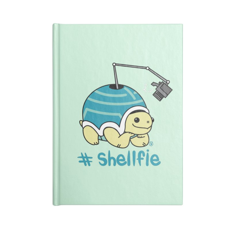 SHELLFIE Accessories Blank Journal Notebook by Tripleta Studio Shop