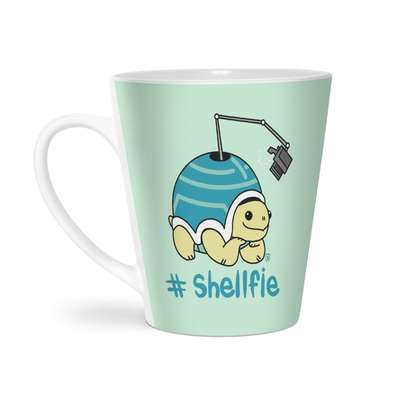 SHELLFIE Accessories Latte Mug by Tripleta Studio Shop