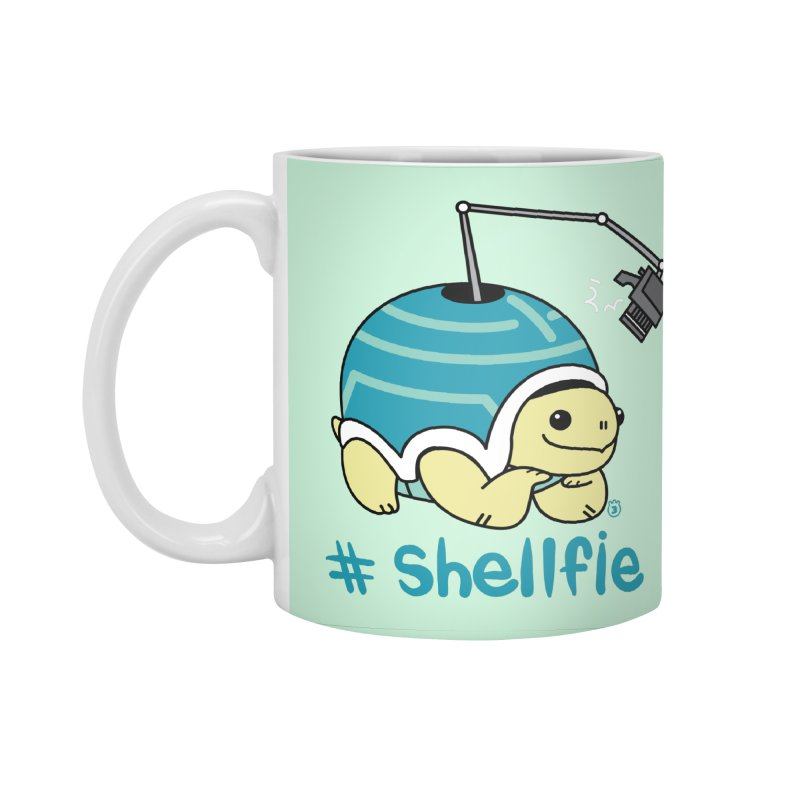 SHELLFIE Accessories Standard Mug by Tripleta Studio Shop