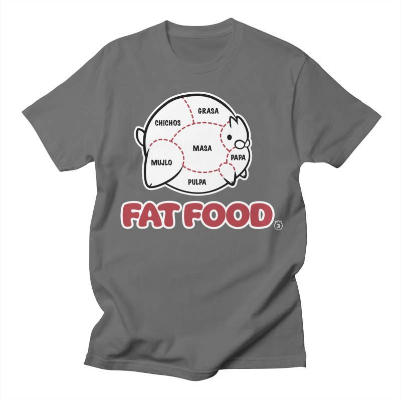 FAT FOOD Men's T-Shirt by Tripleta Studio Shop