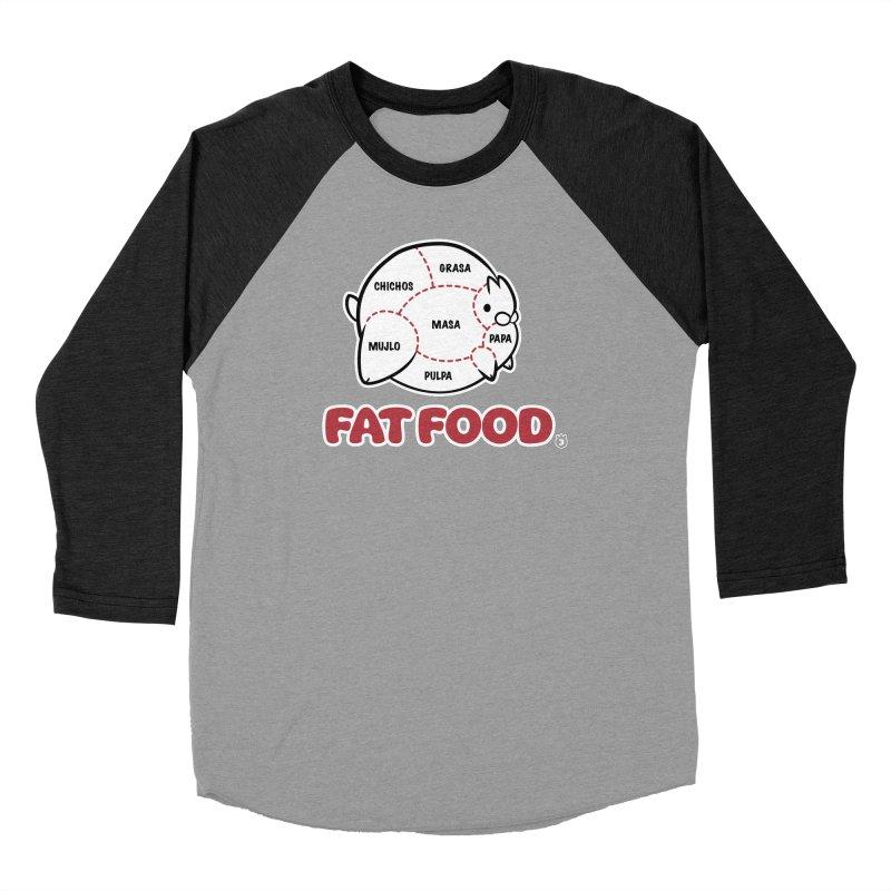FAT FOOD Men's Longsleeve T-Shirt by Tripleta Studio Shop