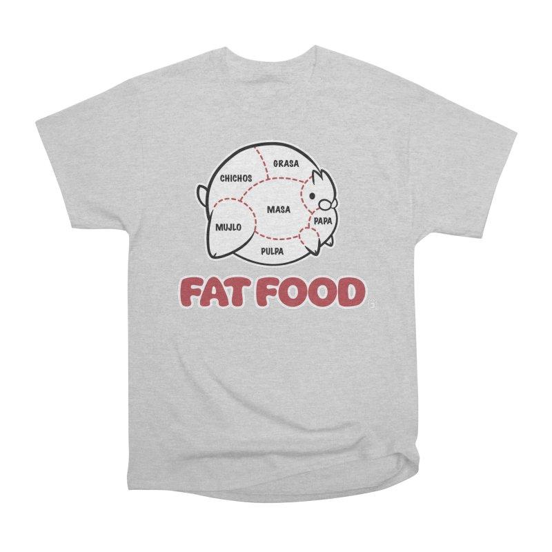 FAT FOOD Men's Classic T-Shirt by Tripleta Gourmet Clothing