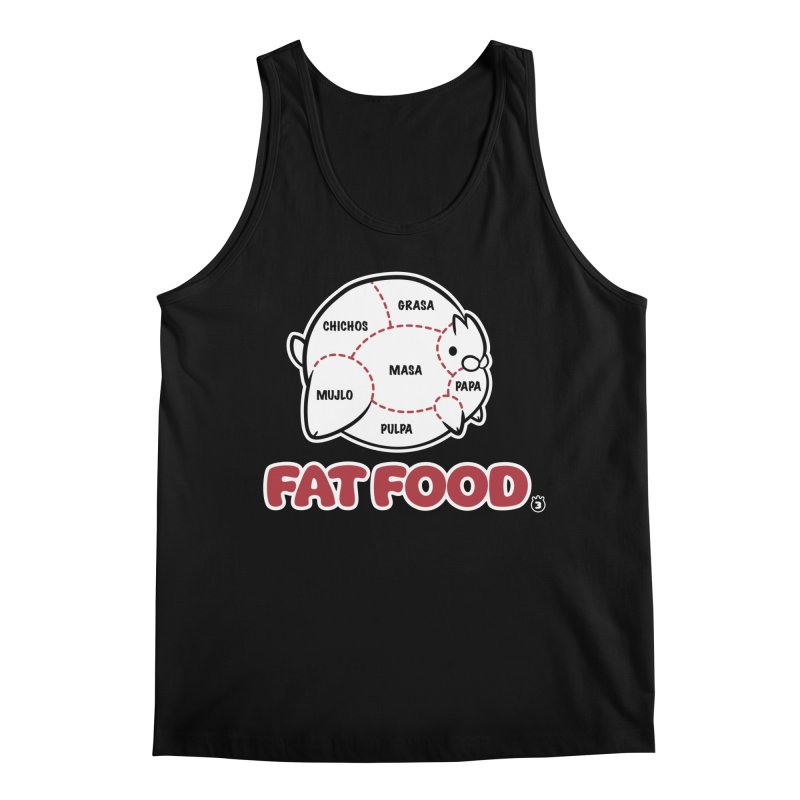 FAT FOOD Men's Regular Tank by Tripleta Studio Shop