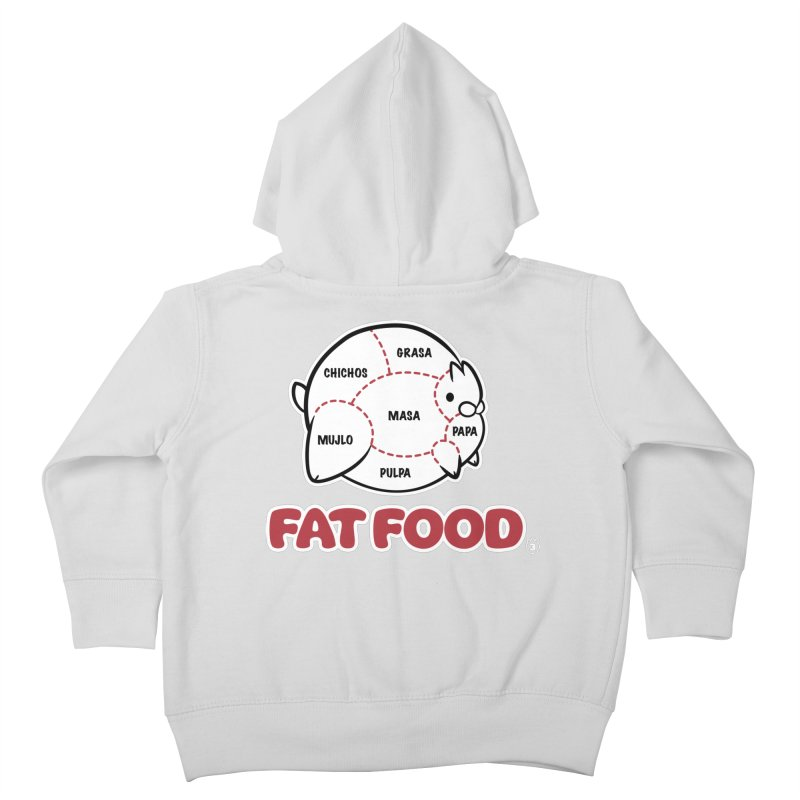 FAT FOOD Kids Toddler Zip-Up Hoody by Tripleta Studio Shop