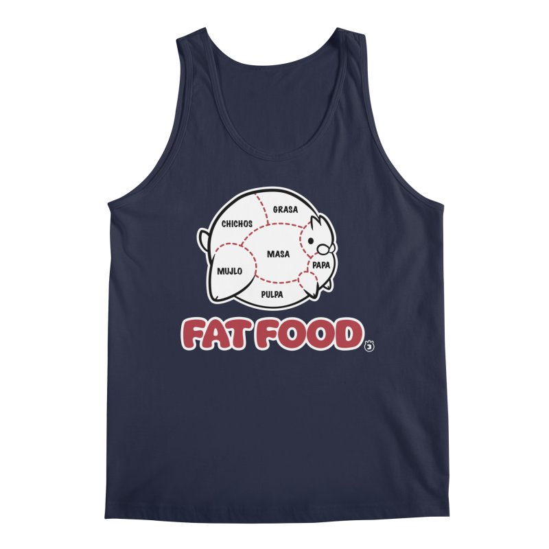 FAT FOOD Men's Regular Tank by Tripleta Studio Shop